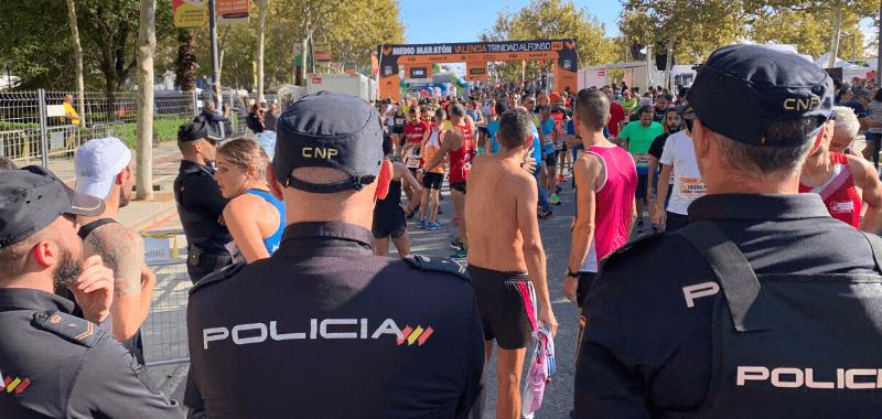 Media Maratón Valencia estudia sanciones a corredores por acciones ilegales