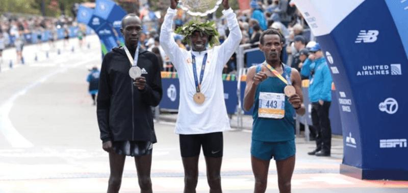 La historia del etíope desconocido que subió al podio en el Maratón de Nueva York 2019