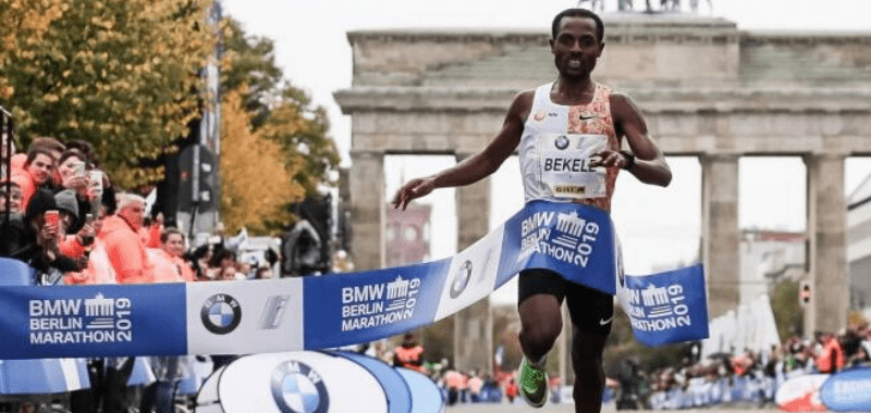 Kenenisa Bekele Maratón de Berlin