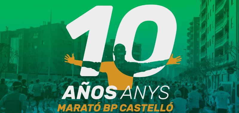 Diez años cumple el Maratón BP Castelló.