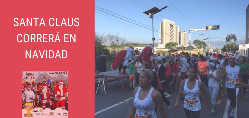 Santa Claus correrá Media Maratón en Navidad