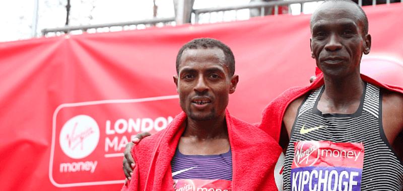 Bekele y Kipchoge se enfrentan en Londres.