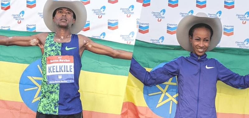 Etiopía se lleva el triunfo en el Maratón de Houston 2020