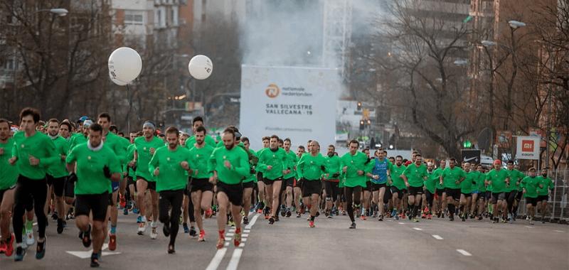 40 mil deportistas despidieron el 2019 corriendo en la San Silvestre Vallecana (ESP)