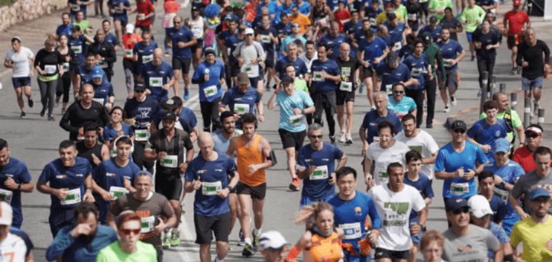 Maratón de Jerusalén será el 20 de marzo