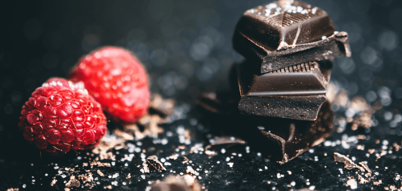 Los beneficios del chocolate amargo por Soy Maratonista