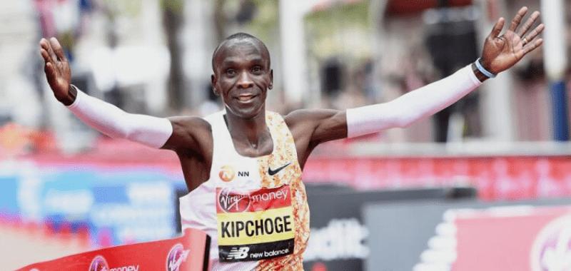 Eliud Kipchoge en la pasada edición del Maratón de Londres