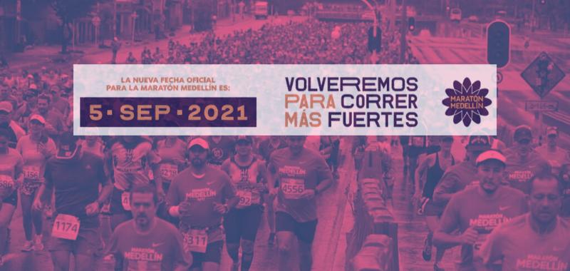 Aplazada para 2021 edición 26 del Maratón de Medellín