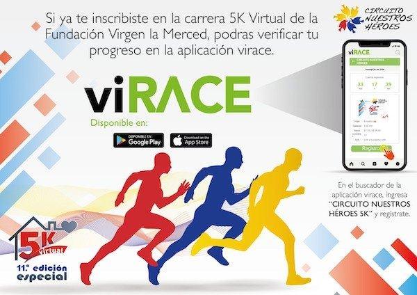 Abierta carrera virtual 5 K a beneficio de la Fundación Virgen de la Merced (Ecu)