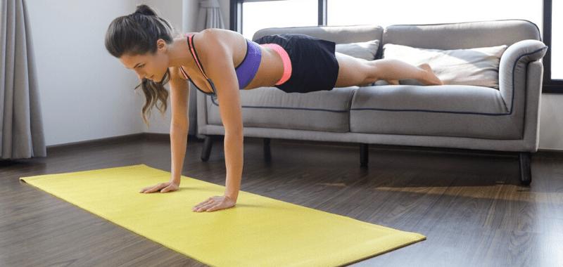 Opciones de ejercicios con el peso corporal