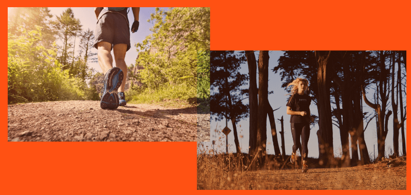 Trail running el fin de semana: Cómo hidratarse y nutrirse