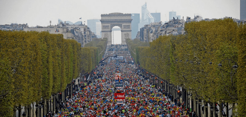 Postergado para Noviembre el Maratón de París