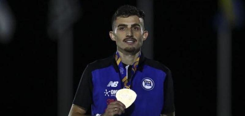 Ederson Vilela Pereira en la foto maratonista brasileño