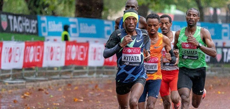 Eliud Kipchoge no logra retener el título en  Maratón de Londres 2020