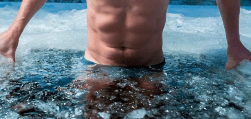 terapia agua frio