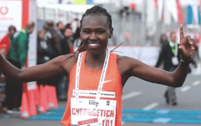 Récord mundial de media maratón femenino en Estambul