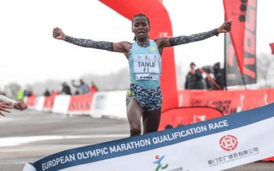 Élites corrieron en Siena en busca de marca olímpica