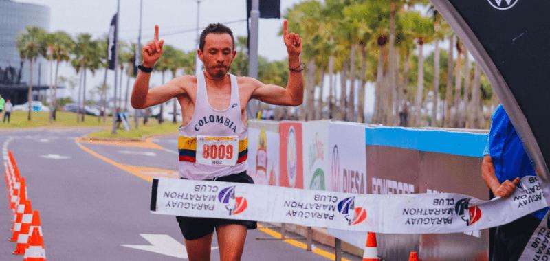 El maratonista colombiano se impuso en el Campeonato Suramericano 2021