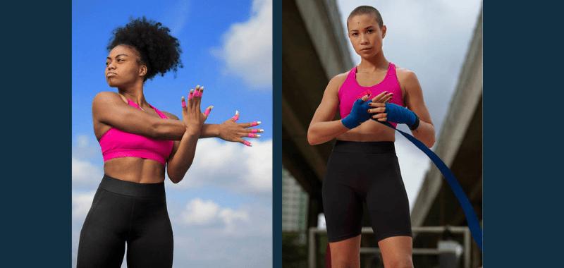 mallas para entrenar con la menstruación