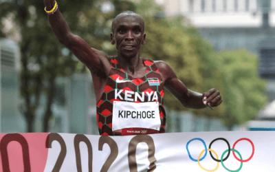 Kipchoge: Batirán mis récords y seré feliz