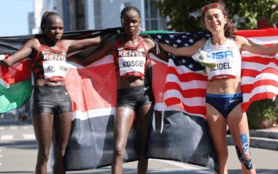 Kenia gana maratón femenino en Tokio2020