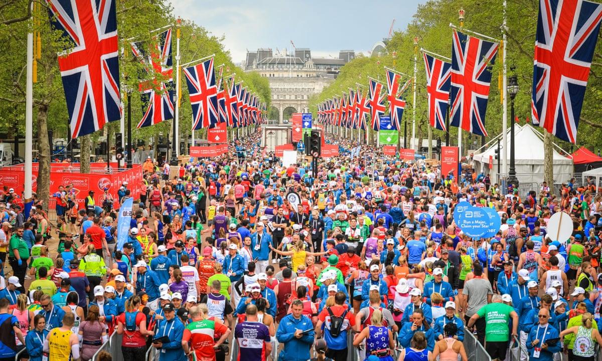 ruta maraton londres 2021