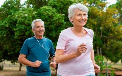 ¿Qué efectos tiene el envejecimiento en el corredor?