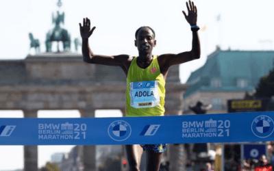 Etíope Guye Adola gana el Maratón de Berlín