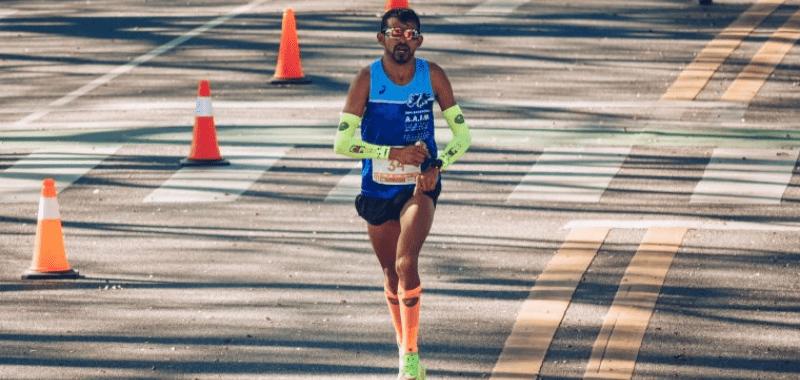 Pedro Luis Gómez gana Maratón del Rosario