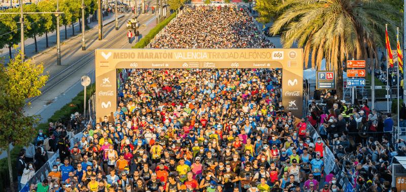 la media maraton de valencia de regreso