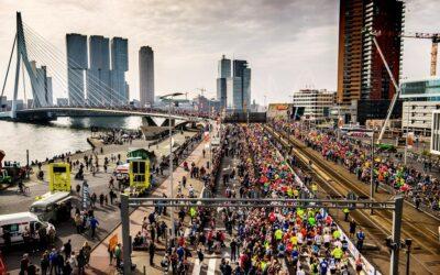 Se celebra el Maratón de Rotterdam 2021